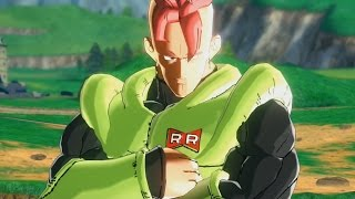 getlinkyoutube.com-Dragon Ball Xenoverse(PC): Androids VS Cell [Android #16 MOD]