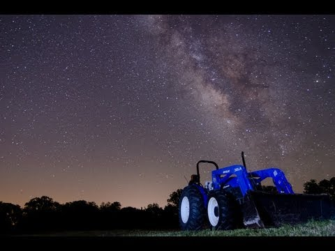 The Milky Way - Time Lapse Montage (HD)
