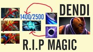 getlinkyoutube.com-Unreal 1114 Gold Per Min - Dendi Anti-Mage vs Ditya Ra R.I.P Magic Dota 1440p