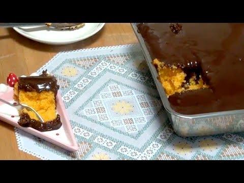 receita de bolo de cenoura da vovo