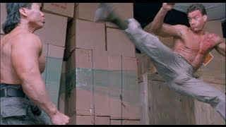 getlinkyoutube.com-Double Impact Fight Scene - Van Damme vs. Bolo [HD]