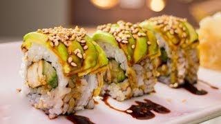getlinkyoutube.com-Teriyaki Chicken Sushi Roll Recipe