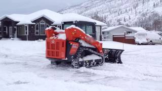 getlinkyoutube.com-Kubota Track Loader without  & with Carbide Claws on it