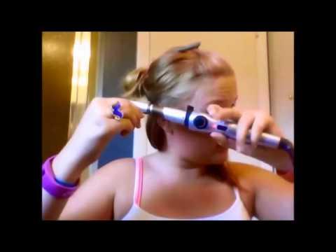 Garota arranca os cabelos com Baby Liss