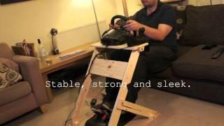 getlinkyoutube.com-The WheelStand mkII - Custom DIY Steering Wheel Stand