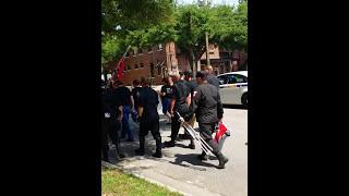 getlinkyoutube.com-KKK marchers going to Rally