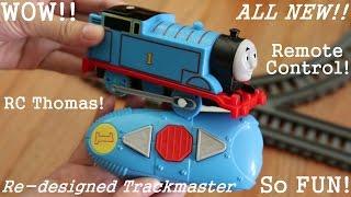 getlinkyoutube.com-The All New Re-designed Remote Control Trackmaster Thomas the Tank Engine