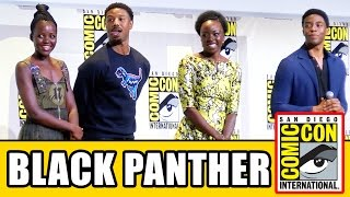 BLACK PANTHER Comic Con 2016