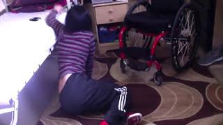getlinkyoutube.com-How to Get Up if u are Quadriplegic  C5-C6