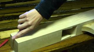How to make a traditional style jointer plane part 5