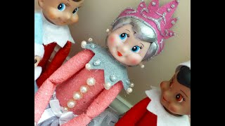 getlinkyoutube.com-Elf on the Shelf PRINCESS PINKY!