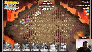 getlinkyoutube.com-CC #321 Expert Dungeon's by Hunted Castle Clash / Schloss Konflikt