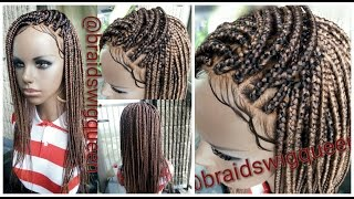 getlinkyoutube.com-DIY: Detailed Box Braid Wig Tutotrial (Step by Step/Beginner friendly)
