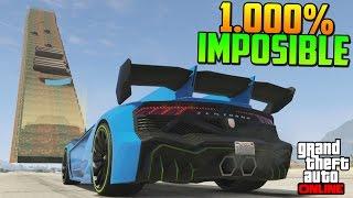 getlinkyoutube.com-1.000% IMPOSIBLE! ESCALERA DE LA MUERTE!! - Gameplay GTA 5 Online Funny Moments (Carrera GTA V PS4)