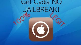 getlinkyoutube.com-How to get Cydia **NO PC OR JAILBREAK**