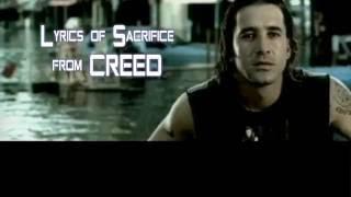 Creed   My Sacrifice (lyrics)