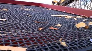getlinkyoutube.com-WASTE /SOIL SCREENER SCREENING WOOD SHAVINGS DICK SEARLE CAMBS