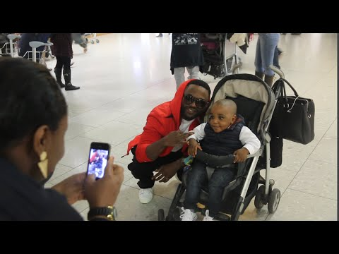 Iyanya Touches Down In The UK - CokoBar 10th Year