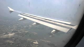 getlinkyoutube.com-Biman Bangladesh airlines landing in Dhaka airport