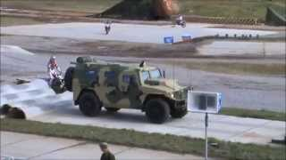 getlinkyoutube.com-Tigr GAZ-2330 armoured vehicle personnel carrier Russian defence industry Engineering Technologies