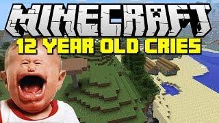 getlinkyoutube.com-Minecraft: Trolling a kid until he cries!