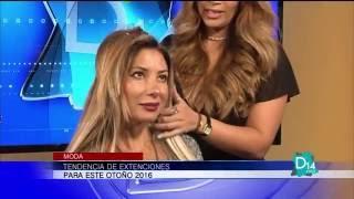 Maite Varela presenta la tendencia de extensiones para este Otoño 2016