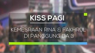 getlinkyoutube.com-Kemesraan Rina & Fakhrul Di Panggung DA 3 - Kiss Pagi 25/02/16