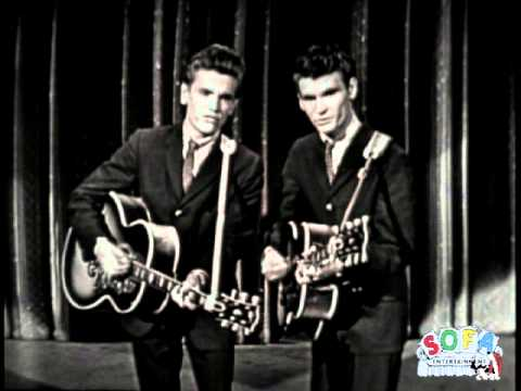 "The Everly Brothers ""Wake Up Little Susie"" on The Ed Sullivan Show"