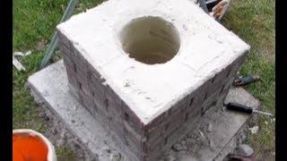 getlinkyoutube.com-How to Melt Copper 2/3: Building the Foundry