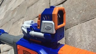 getlinkyoutube.com-[REVIEW] Nerf Pinpoint Sight Unboxing, Review, & Opinion