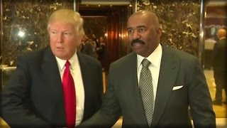 RIGHT AFTER MEETING TRUMP, CRAZY LIBERALS DID SOMETHING SICK TO STEVE HARVEY!