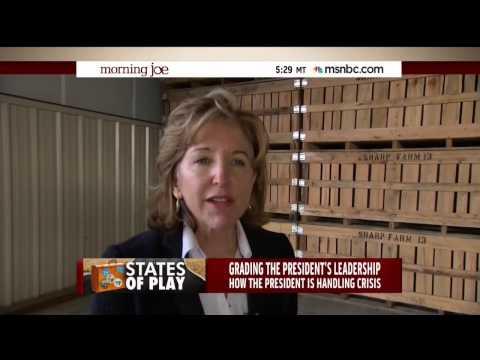 Kay Hagan Struggles To Answer Obama Leadership Question
