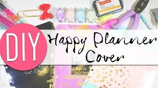 getlinkyoutube.com-DIY: Make Your Own Happy Planner Covers