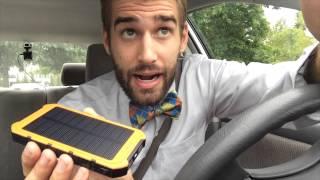 getlinkyoutube.com-★★★★★ Solar Charger, X-DRAGON Solar Power 10000mAh Solar Battery Charger - Amazon