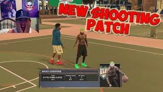 getlinkyoutube.com-NEW SHOOTING PATCH FIRST GAME - IM A GOD AGAIN !! MORE GREEN LIGHTS !! NBA 2K17