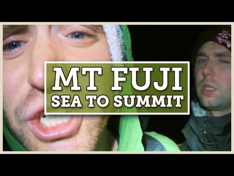 Climbing Mt Fuji Sea to Summit: 27hrs of Exhaustion