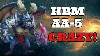 getlinkyoutube.com-Castle Clash New HBM! AA Wave! AA-5 Is CRAZY!