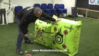 getlinkyoutube.com-Mybo SURESHOT & HOTSHOT Archery Bag Target Demonstration and Maintenance, by Merlin Archery.