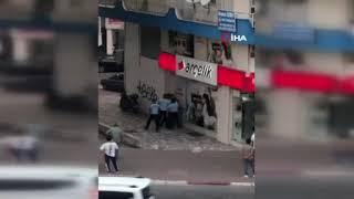 Antalya'da kadın zabıtaya küfür ve fiziki saldırı iddiası dayakla bitti