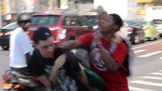 getlinkyoutube.com-Throwing SWINGS In The Hood PRANK GONE WRONG