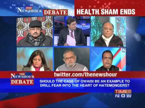 "The Newshour Debate: Akbaruddin Owaisi ""hate speech"" case (Full Episode)"