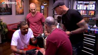 getlinkyoutube.com-Method Man Tattooing - NY Ink