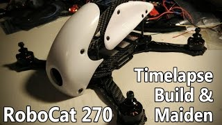 getlinkyoutube.com-Robocat 270 - Timelapse build and maiden flight