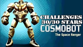 getlinkyoutube.com-Real Steel Cosmobot | HALLOWEEN UPDATE | CHALLENGES 30/30 STARS | NEW ROBOT (Живая Сталь)