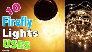 getlinkyoutube.com-10 LED Light Uses with Fairy Firefly String Lights