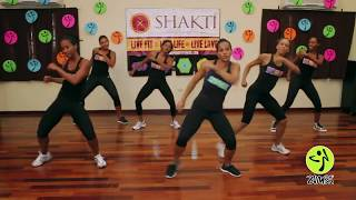 getlinkyoutube.com-Boom Boom by Black Eye Peas Zumba Routine