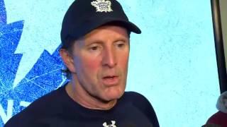 getlinkyoutube.com-Maple Leafs Practice: Mike Babcock - December 6, 2016