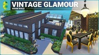 getlinkyoutube.com-The Sims 4 House Building - Vintage Glamour Stuff Factory