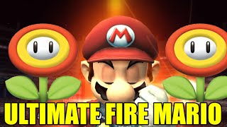 The ULTIMATE Fire Mario Mod For Super Smash Bros Brawl/Project M