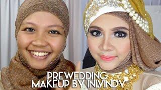 getlinkyoutube.com-Tutorial Makeup dan Hijab Prewedding Dengan Kebaya | IniVindy